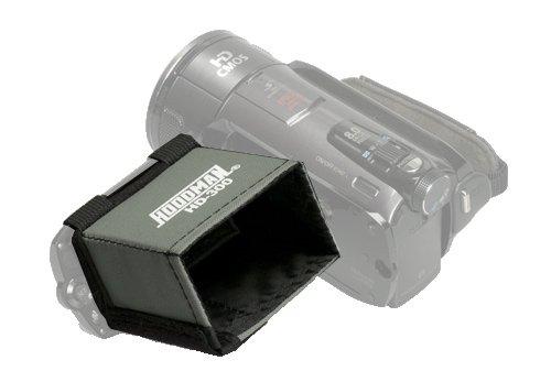 Hoodman HD-300VIDEO HD 16X9 LCD - Videocamera paraluce per 3