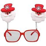 LoveLeiter MäDchen Weihnachten Brillengestell Niedlich Kinder Erwachsene Ornamente Decor Abend Party Spielzeug Weihnachtsdeko Dekoration Geschenk Dekorationen Girls Geburtstags HeißE(D,Freie Größe)