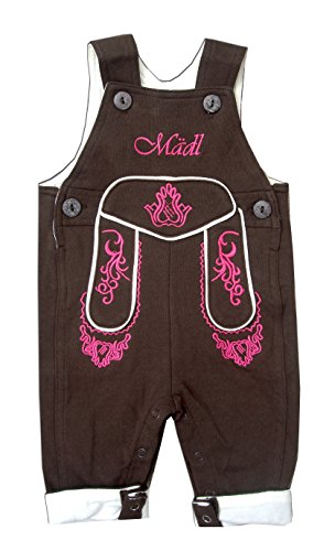 - Baby Mädchen Lederhosen Kostüm