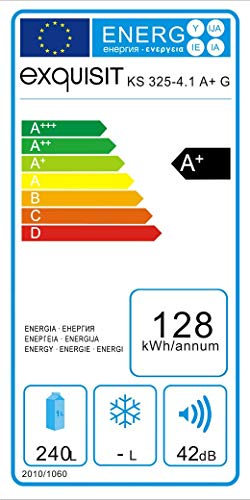 Exquisit KS 325 A+G Kühlschrank /Kühlteil232 liters