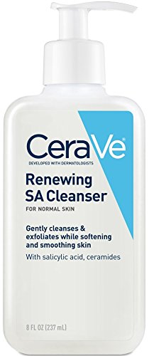 CeraVe Renewing SA Cleanser, 8 Ounce by Valeant Pharmaceuticals North America - 1 Unzen Cleanser