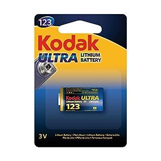 AUCUNE Kodak–Ladegerät Ultra Alkalina 123