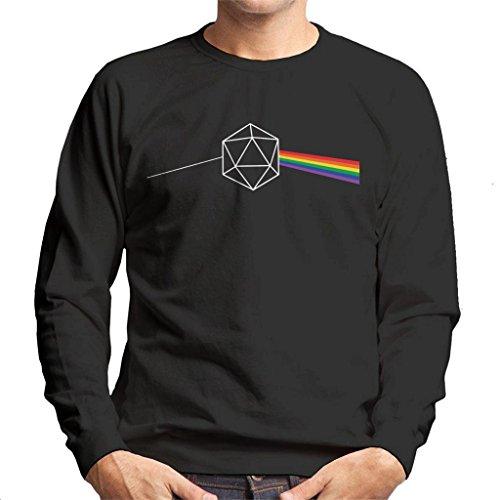 Dungeons and Dragons Dice Dark Side of The Moon Men's Sweatshirt