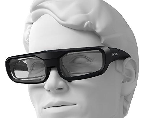 Bild 53: Epson EH-TW6100 3D Heimkino 3LCD-Projektor (Full HD 1080p, 2.300 Lumen Weiß & Farbhelligkeit, 40.000:1 Kontrast, 2x HDMI (1x MHL), inkl. 1x 3D Brille) schwarz