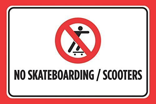 no-skateboarding-scooters-print-red-black-white-picture-symbol-business-store-front-window-road-stre