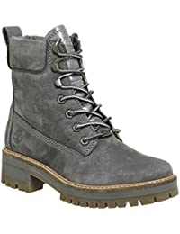 Timberland Lace Up Boot Rust Nubuck CA1KIG, Boots