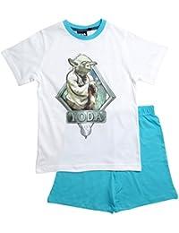 Star Wars Pyjama Kollektion 2016 Shortie 104 110 116 122 128 134 140 146 Shorty Kurz Schlafanzug Yoda Stormtrooper Sturmtruppler