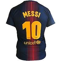 Trikot Fußball Barcelona Lionel Messi 10 Replik Official 2017-2018 Kinder Junge Männer