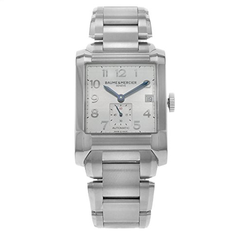 baume-et-mercier-hampton-moa10047-gents-stainless-steel-case-automatic-watch