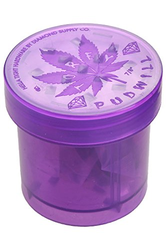 Diamond Pudwill Grinder purple 7/8