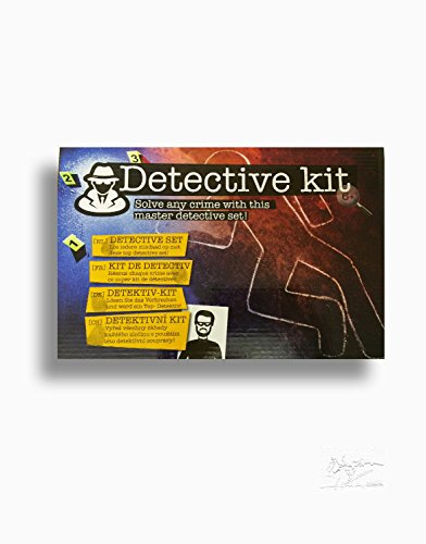 Detektiv-Set mit Zubehör Detektiv Kit Spiel Löse Das Verbrechen