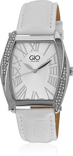 Gio Collection Analog White Dial Women's Watch - G0040-02 image