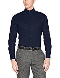 SELECTED HOMME Herren Businesshemd Shdonephil Shirt Ls Noos