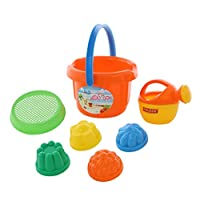 Polesie Polesie4399 208 Size Sieve 4 Forms Small Watering Can No. 4-Sets: Bucket, Big, Multi Colour