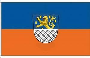 Bannerflagge Nassau mW - 150 x 400cm - Flagge und Banner