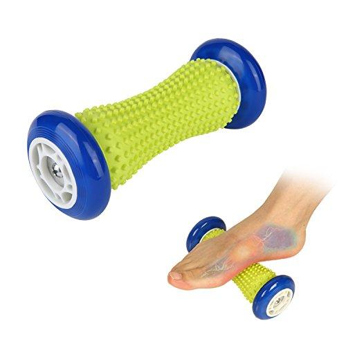 Preisvergleich Produktbild ARTIFUN Fußmassage Roller Spiky Ball für Relief Plantar Fasciitis und Reflexology Massager für Tiefengewebe Acupressure Recovery für PLA Relax Fuß Rücken Bein Hand Tight Muscle