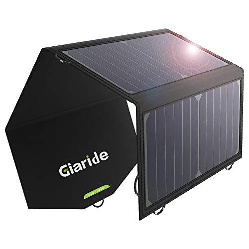 c9cd342d603d5 GIARIDE 12V 18V 21W Cargador Panel Solar Sunpower Baterías de Coche  Plegable Placa Solar Portátil (