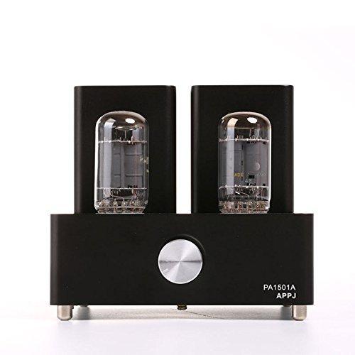 Nobsound APPJ PA1501A Mini 6AD10 Valve Tube Amplifier Audio Hi-Fi Stereo Power Amp Black Röhrenverstärker