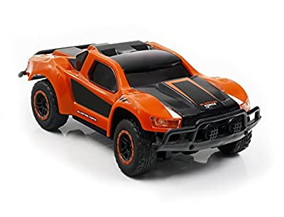 Rc Car,KINGBOT 2.4Ghz 1:43 Mini Scale Remote Control Electric Racing Car with High Speed and Rechargeable Battery