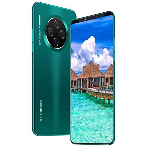 HSKB M33 Pro Smartphone ohne Vertrag Günstig 10 Core 6,1 Zoll Wassertropfen Bildschirm Face Unlock 4500mAh Akku 1600W und 3200W Dual Kamera WiFi GPS 8 GB ROM Dual SIM Android 9,1 (EU) (Grün)