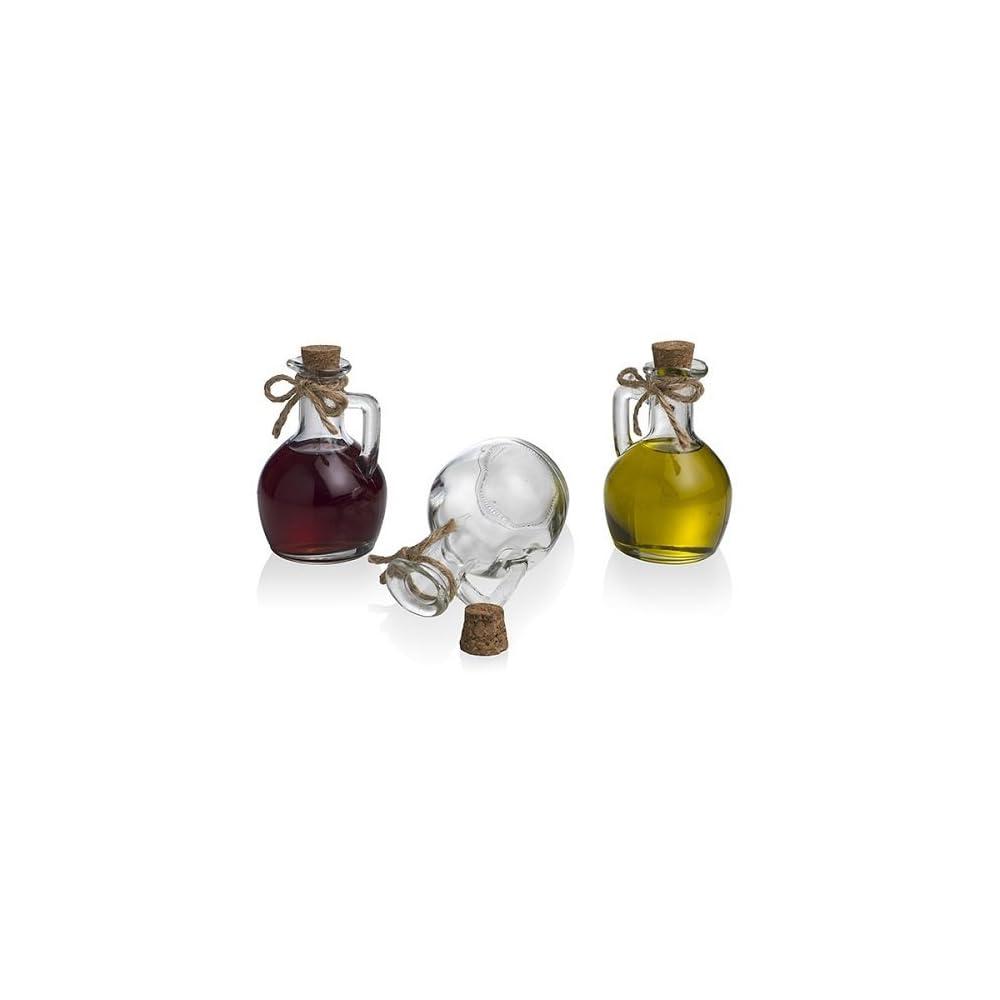 Bradani 54282 L Essig Glas 1 Stck Stopfen Kork 150 Cc 8 X 12h Lflasche Essigflasche