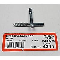 Bo/îte De 100/Sie index abta20630/tirefond-collier und Agrafe Edelstahl A2/M6/x 30/