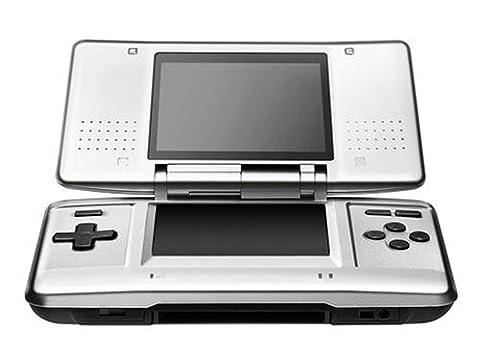 Nintendo DS Konsole silber (mit Bonus-Disc