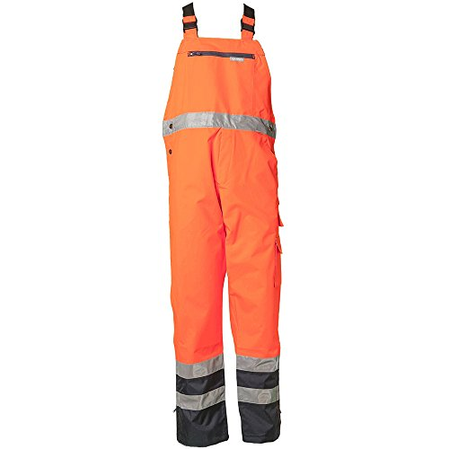 PLANAM - PANTALON REFLECTANTE IMPERMEABLE  COLOR NARANJA NARANJA ORANGE/MARINE TALLA:XXX-LARGE