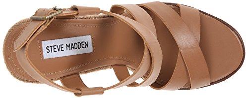 Steve Madden Elllaa Synthétique Sandales Compensés Natural