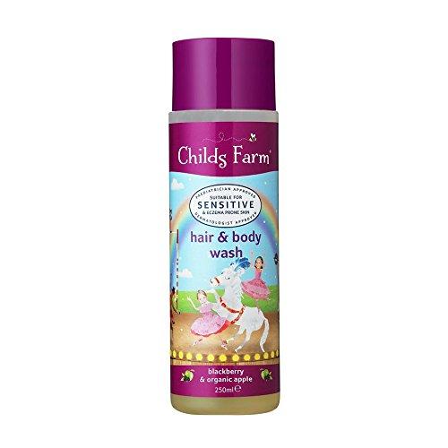 Childs Farm Hair & Body Wash BlackBerry & mela biologica 250ml