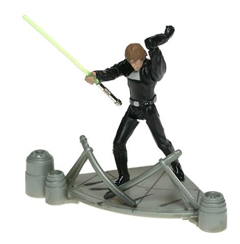 Figurine Star Wars Saga Return Of The Jedi Throne Duel Room Luke Skywalker