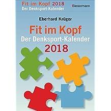 Fit im Kopf - der Denksport-Kalender 2018