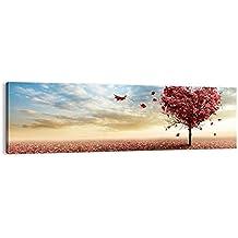 Cuadro sobre lienzo - de una sola pieza - Impresión en lienzo - Ancho: 160cm, Altura: 50cm - Foto número 2609 - listo para colgar - en un marco - AB160x50-2609