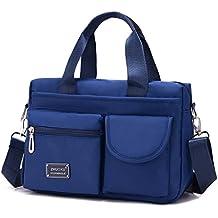 3140ff2c49207 Longra Damen Umhängetasche Damen Henkeltasche Damen Handtasche  Schultertasche Damen Wasserdichte Messenger Bag Designer Kuriertasche  Rucksäcke Sporttasche