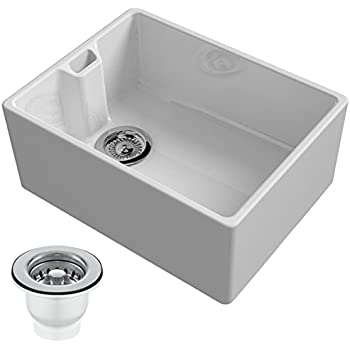 Kitchen Sink Waste Reginox belfast 600mm 10 bowl ceramic kitchen sink waste in white reginox belfast 600mm 10 bowl ceramic kitchen sink waste in white workwithnaturefo
