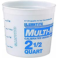 Multi-Mix contenitore di plastica da 2,5