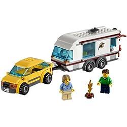 LEGO City - 4435 - Jeu de Construction - La Voiture et sa Caravane