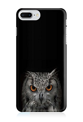 COVER EULE SCHWARZ Handy Hülle Case 3D-Druck Top-Qualität kratzfest Apple iPhone 6 Plus / 6S Plus