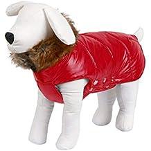 mama stadt Abrigo de Nieve para Perro,Ropa Chaqueta Perros Teddy Golden Retriever para Perro