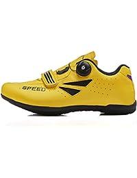 NZHK Zapatillas De Ciclismo, De Los Hombres Y Se Bloquean En Los Deportes De Ocio De Bicicleta De Carretera Impulso Zapatos De Bicicleta De Montaña De La Bicicleta,41EU