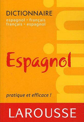 Mini dictionnaire espagnol-français et ...