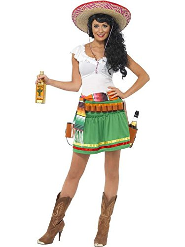 Kostüm Mexikanische Tequila Größe (Mexicaine Kostüm)