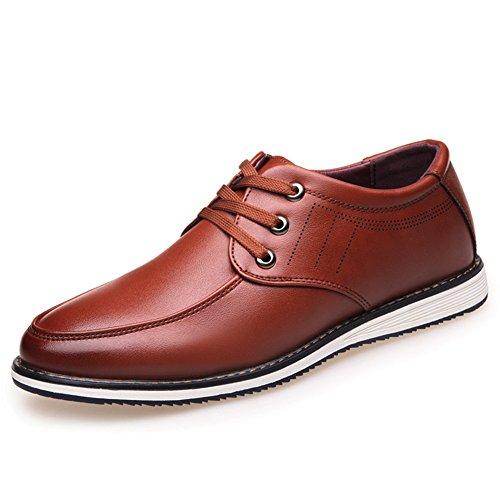 Automne business casual chaussures tendance de la chaussure respirante/Anglaise de chaussures plates/Coupe-bas dentelle Chaussures B