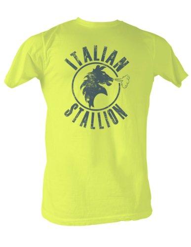 Rocky - Der italienische Hengst T-Shirt in gelb, XX-Large, Yellow