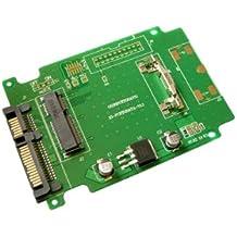 """SSD mSATA a SATA 3,0–adaptador de este adaptador permite usar una unidad SATA SSD mini PCIe """"mSATA en lugar de un habitual–para Intel/Samsung/Toshiba"""