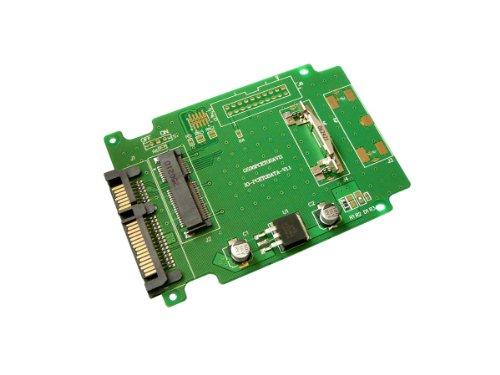 Kalea-Informatique - Adaptador mini PCI Express a SATA para disco SSD miniPCIe tipo mSATA (Intel / Samsung / Toshiba)