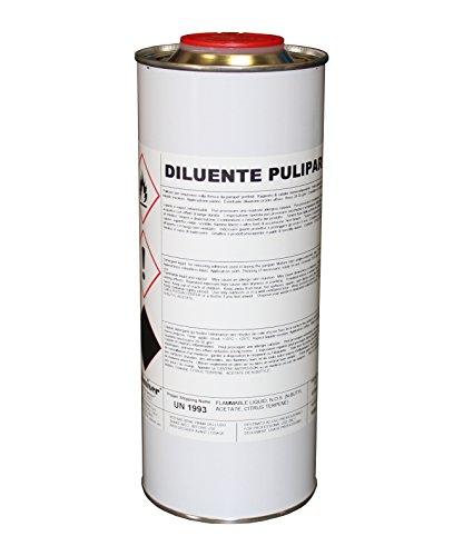 Chimiver® - diluente pulipar 1 lt|. pulitore per rimuovere colla fresca da parquet prefiniti.