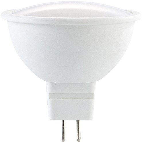 PEARL Gu5.3 LED-Lichter: LED-Spot aus High-Tech-Kunststoff, GU5.3, MR16, 5W, 290lm, 6400 K (Gu5.3 LED-Sparlampen)
