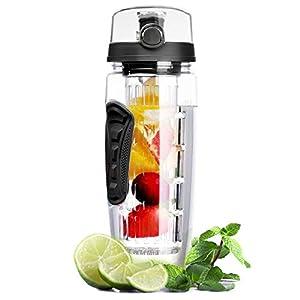 Wasserflasche, Omorc [BPA-frei Tritan] Kunststoff Trinkflasche Sport Flasche...