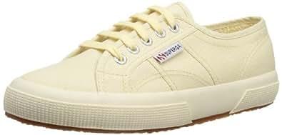 Superga 2750 Classic Leinenschuhe Sneaker 35 Ecru